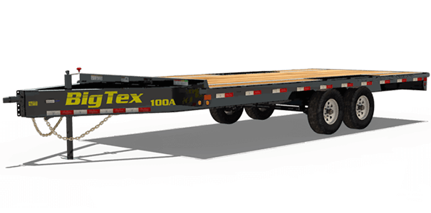 Big Tex Trailers Tagalong Trailers