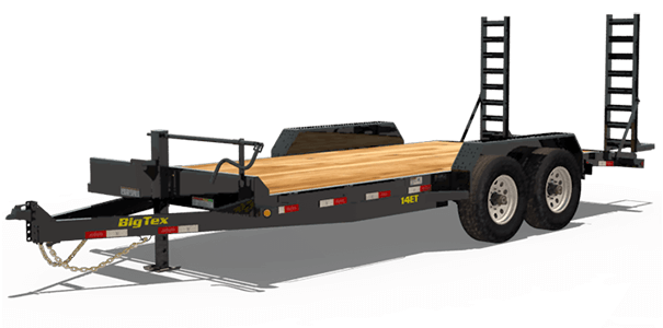 Big Tex Trailers Equipment Trailers
