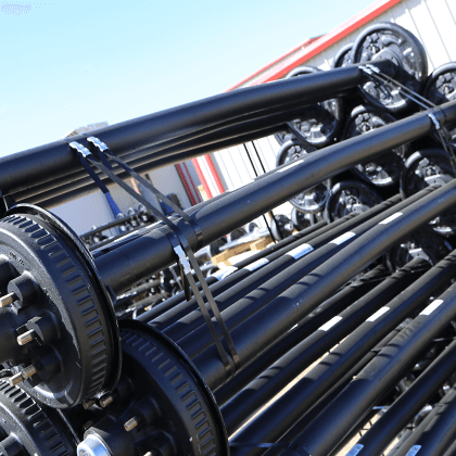 Cambered Axles