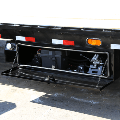 Lockable Side Mount Tool Box Housing Power Unit