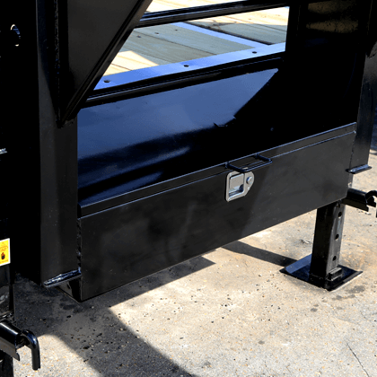 Lockable Toolbox Between GN Uprights