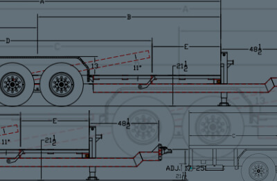 Big Tex Trailers Resource Center  Pin Foot Trailer Wiring Diagram on 4 pin trailer lights, 4 pin wire connector, 4-way trailer light diagram, 7 pin trailer connector diagram, 4 pin trailer connector, 71 ford ignition switch diagram,