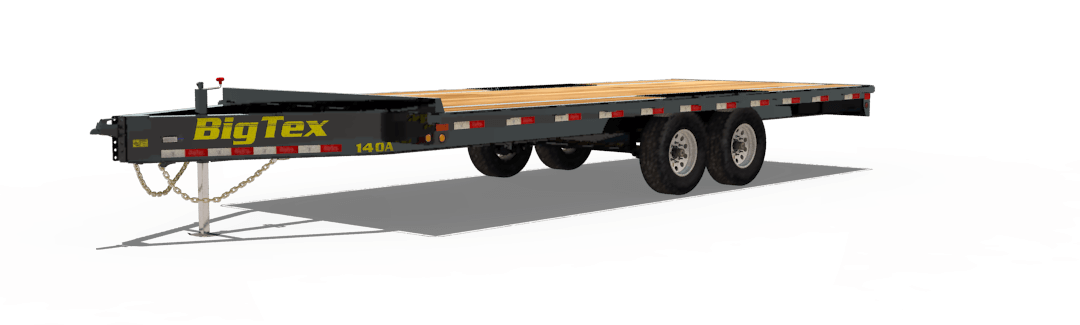 big tex trailers 14oa heavy duty over the axle bumperpull trailer rh bigtextrailers com