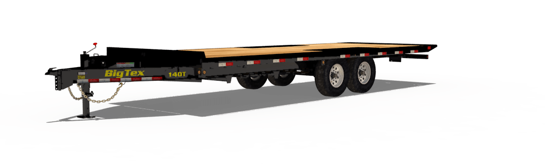 Big Tex Trailers 14OT Heavy Duty Over-the-Axle Tilt Bed